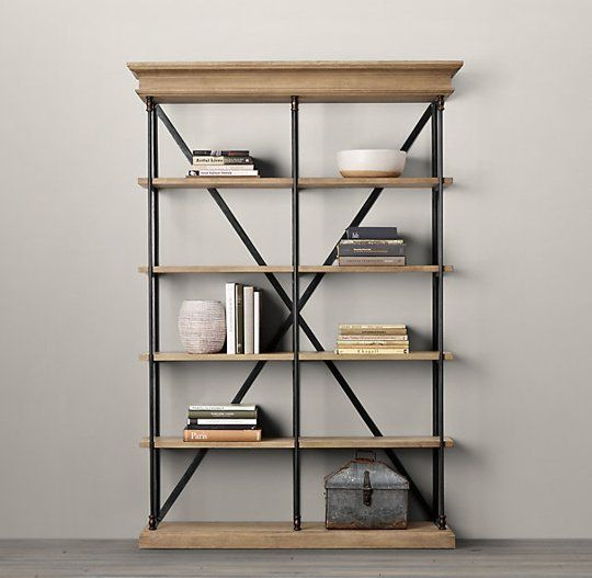 Julia's Product Research: Industrial-Style Bookcase for Under $100 - Julia's Product Research: Industrial-Style Bookcase For Under $100