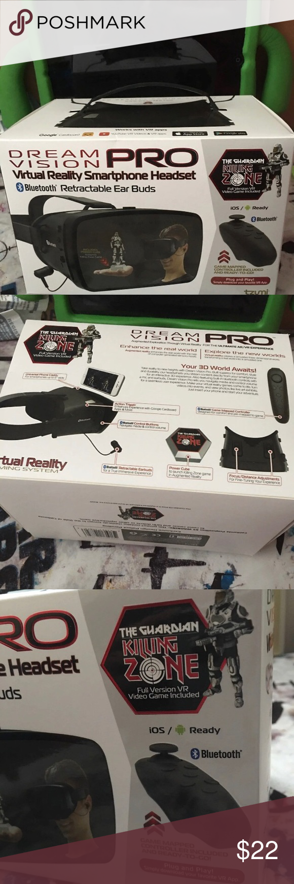 2 sets Dream Vision Pro virtual Reality Virtual reality