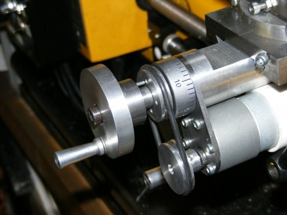 Lathe Homemade Motorized Cross Slide Metal Projects