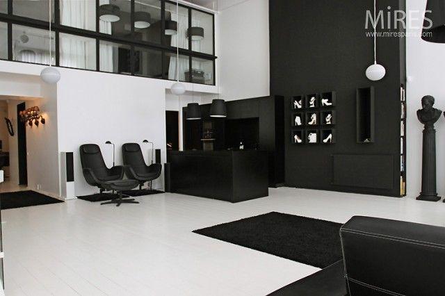 Beau Decorating, Interesting Black White Home Decor: Classy Black White Decor  For Luxurious Home Living