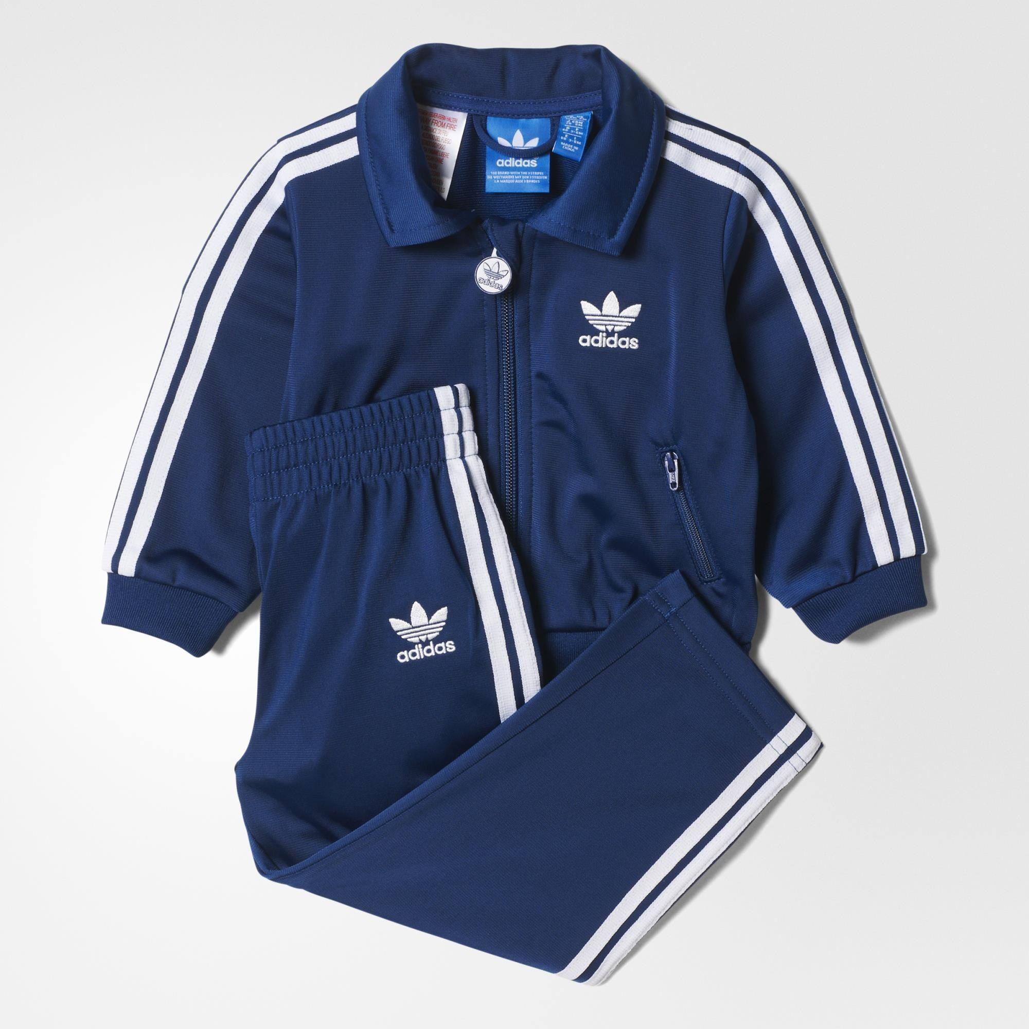 adidas Firebird Track Suit - Blue | adidas UK