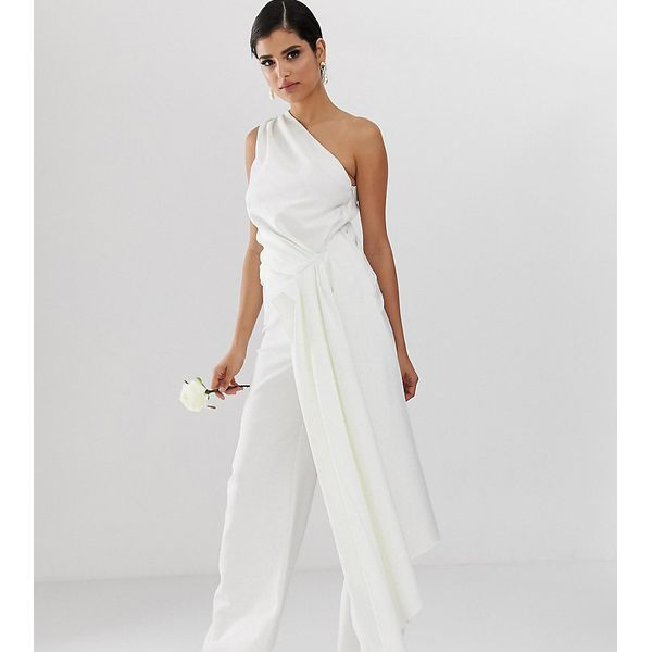 EDITION Tall Wedding - Jumpsuit mit One-Shoulder-Träger ...