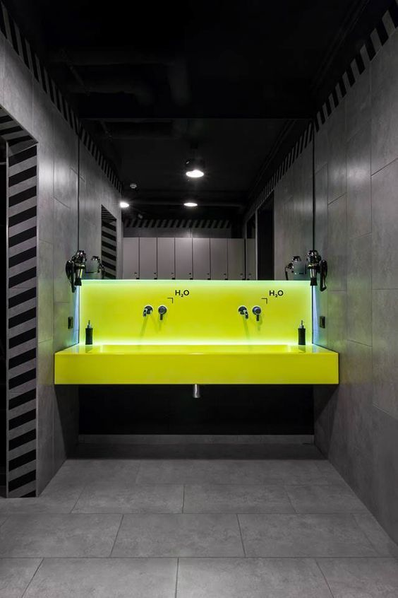 Neon lighting in the bathroom | City Lighting Products | www ...