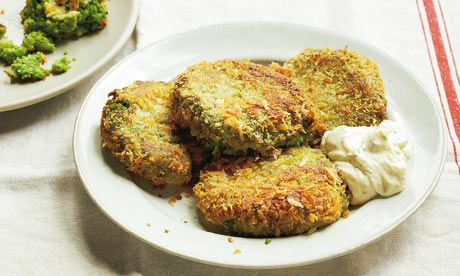 Pea and mint croquettes plus conchiglie with yoghurt peas and food forumfinder Choice Image