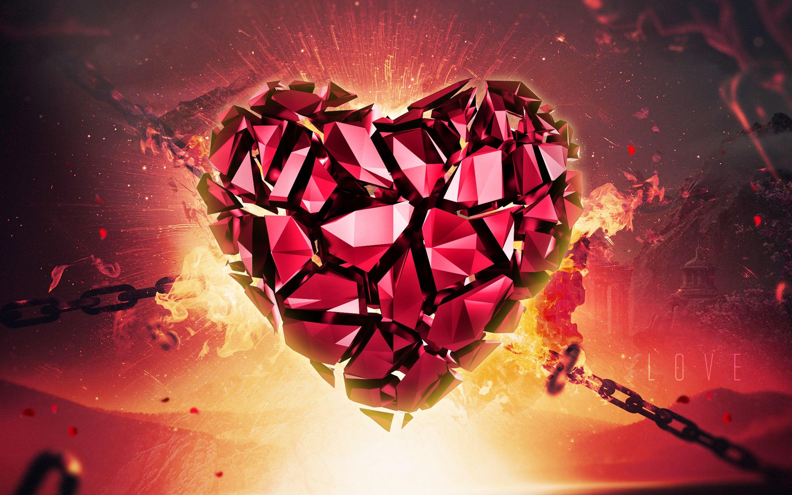 Love Abstract Love Wallpaper Download Broken Heart Wallpaper Full Hd Love Wallpaper