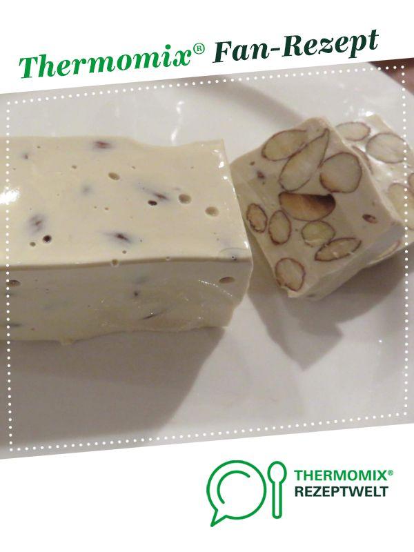 Französicher Nougat / Türkischer Honig / Weißer Nougat von Mixitrixi. Ein Thermomix ® Rezept aus der Kategorie Desserts auf www.rezeptwelt.de, der Thermomix ® Community. #simplecheesecakerecipe