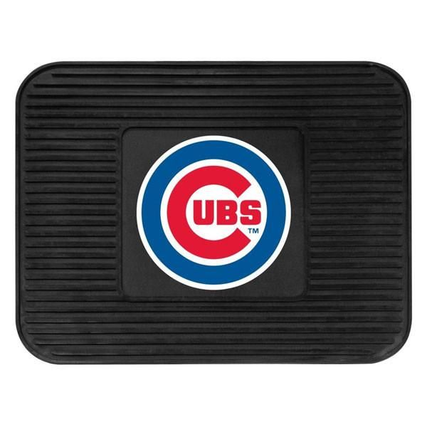 Chicago Cubs Heavy Duty Vinyl Rear Seat Car Utility Mat
