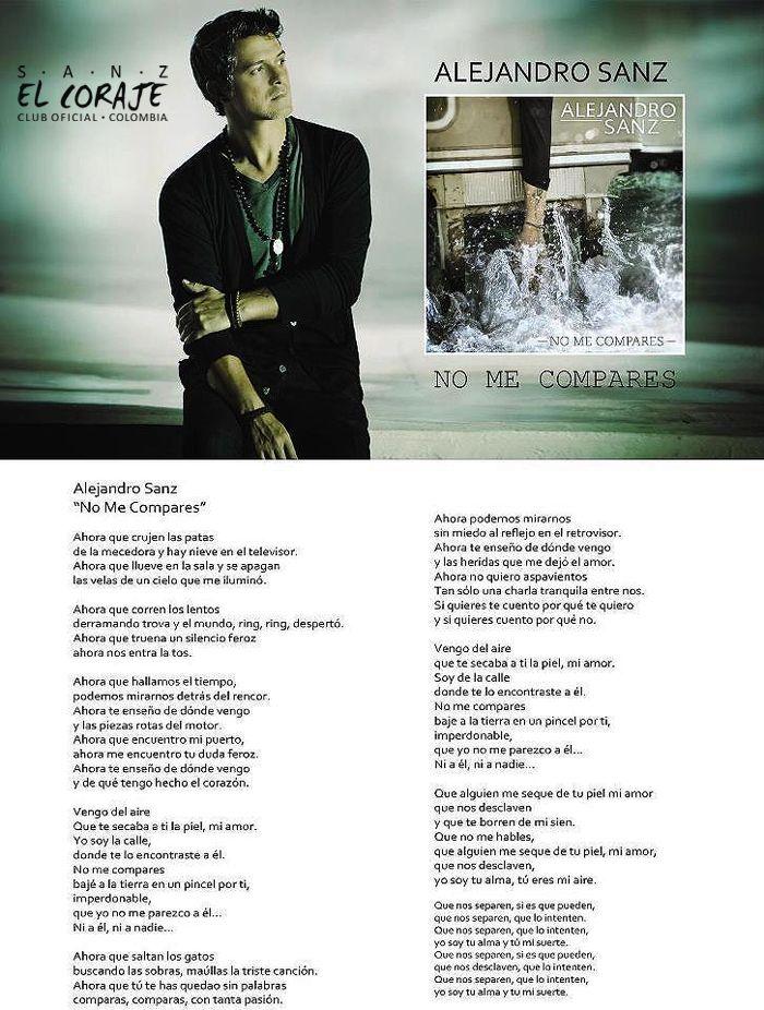 Alejandro Sanz - Corazón partío Lyrics English - Learn ...