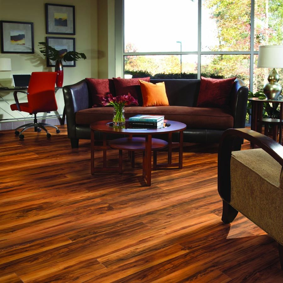 Shop Pergo Max 5 35 In W X 3 96 Ft L Winchester Apple Smooth Laminate Wood Planks At Lowes Com Flooring Inspiration Laminate Hardwood Flooring Flooring