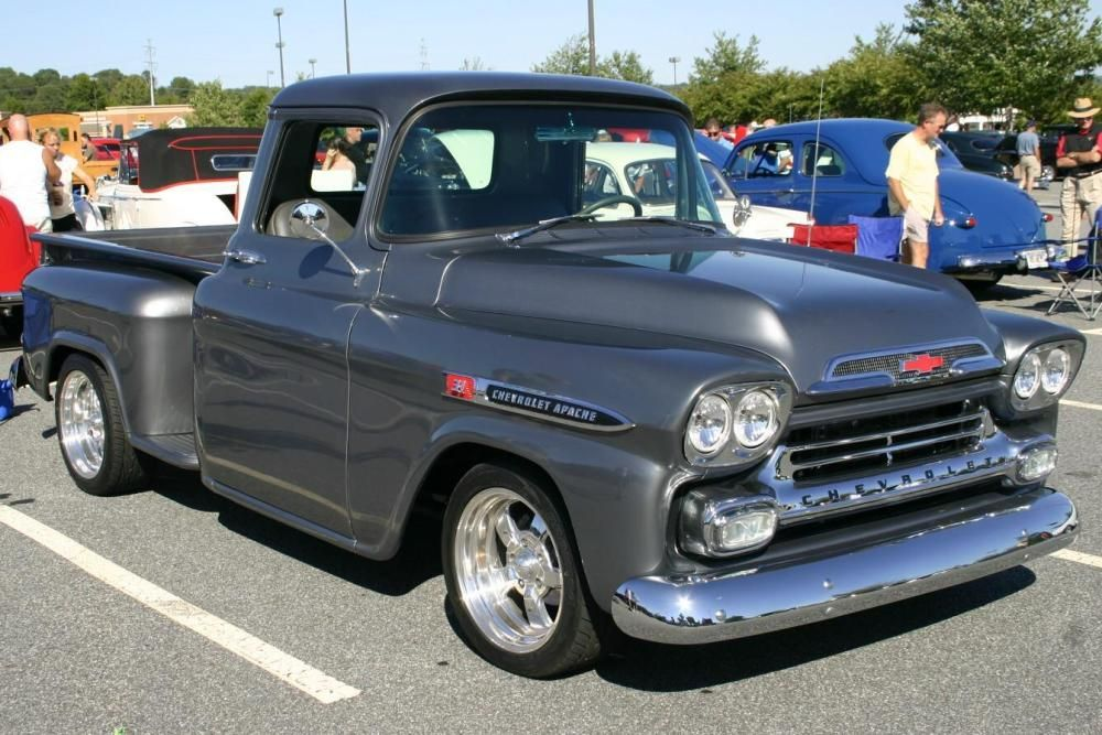 Butch Oustalet Ford >> Pin by Luca Cattoi on Chevy Apache | 57 chevy trucks, Chevy trucks, Classic pickup trucks