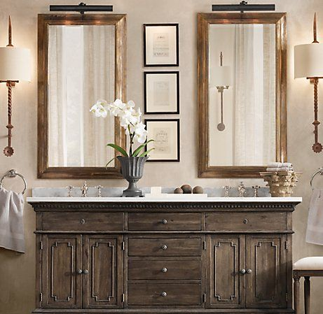 Light Above Mirror For Bathroom Also Vanity Restoration Hardware Bathroom Restoration Hardware Bathroom Vanity Rustic Bathroom Vanities
