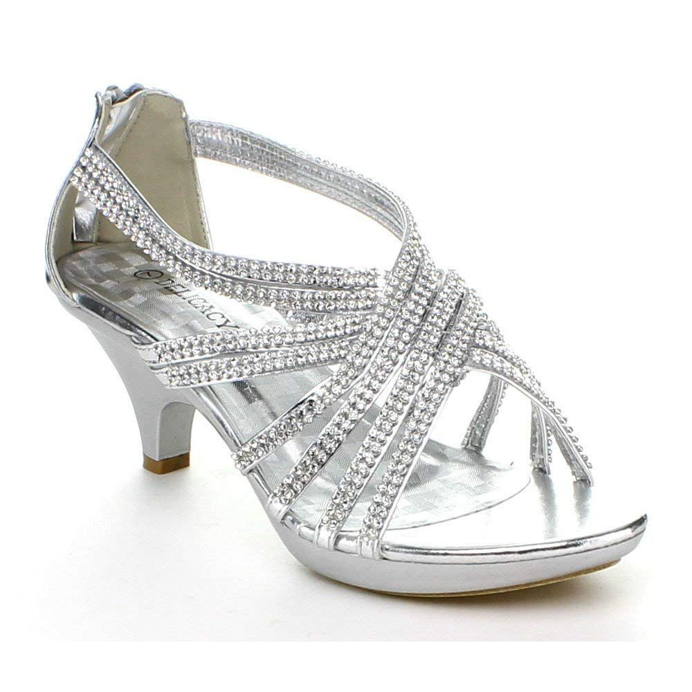 e694fe51c449 Delicacy Womens Angel-41 Rhinestones Embellished Strappy Sandals     Very  kind of your