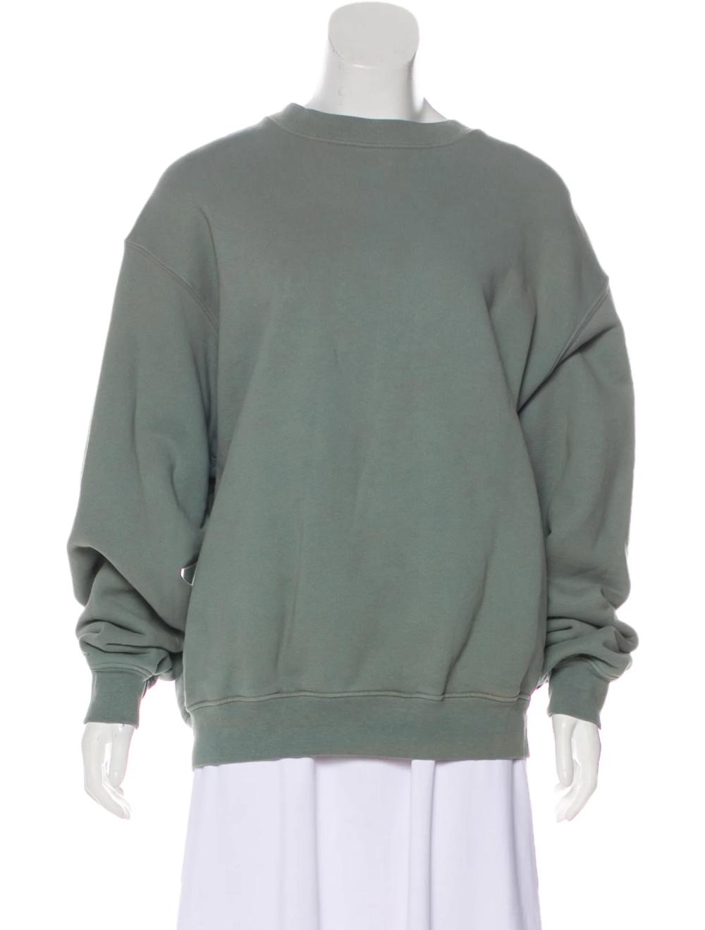 Yeezy Distressed Crew Neck Sweatshirt Clothing Wyeez22839 The Realreal Crew Neck Sweatshirt Sweatshirts Yeezy Outfit [ 1318 x 1000 Pixel ]