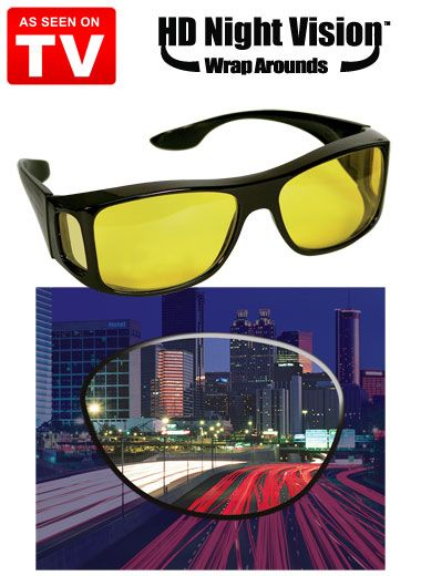 ef28626b1cee HD Night Vision Wraparound Glasses As Seen on TV