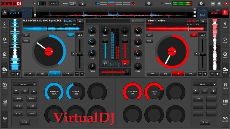 VirtualDJ 2018 Build 4720 Free Download Full Activated