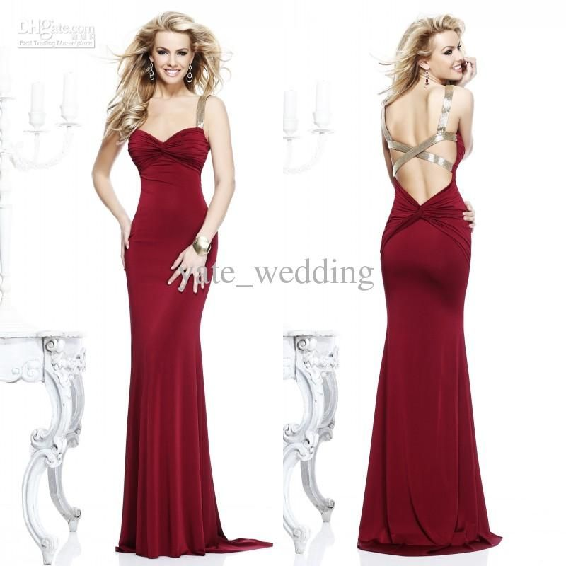140 Wholesale Celebrity Dresses Buy 2014 Sexy Spagetti Mermaid
