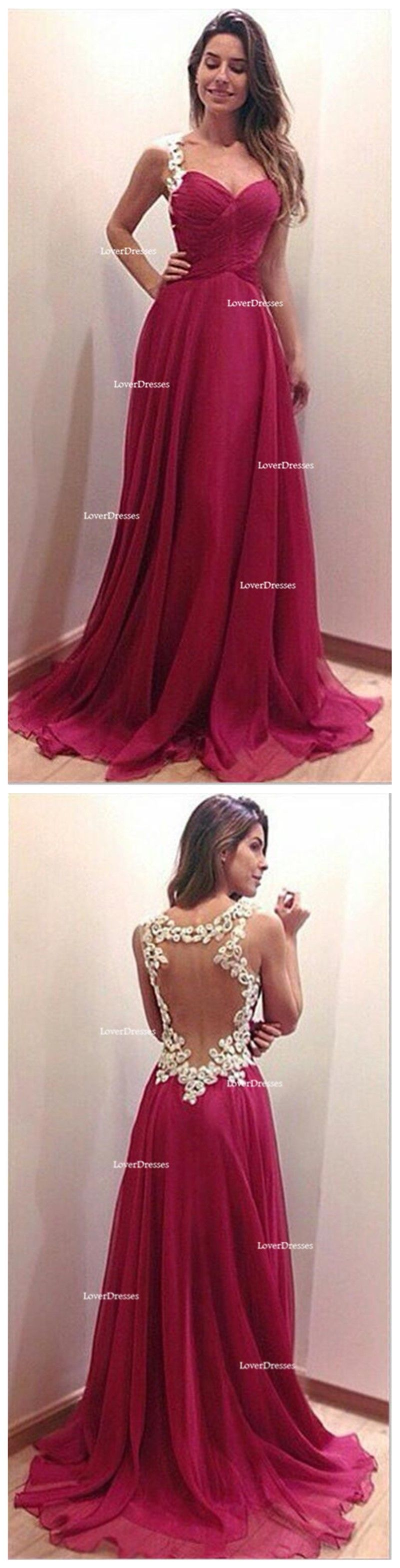 Sexy prom dress backless prom dress red prom dress elegant prom
