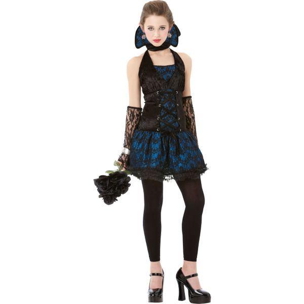 Teen Girls Midnight V&ire Costume  sc 1 st  Pinterest & Teen Girls Midnight Vampire Costume | Geek | Pinterest | Vampire ...