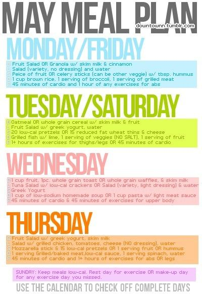 May Meal Plan health Pin it to win it Pinterest Meals