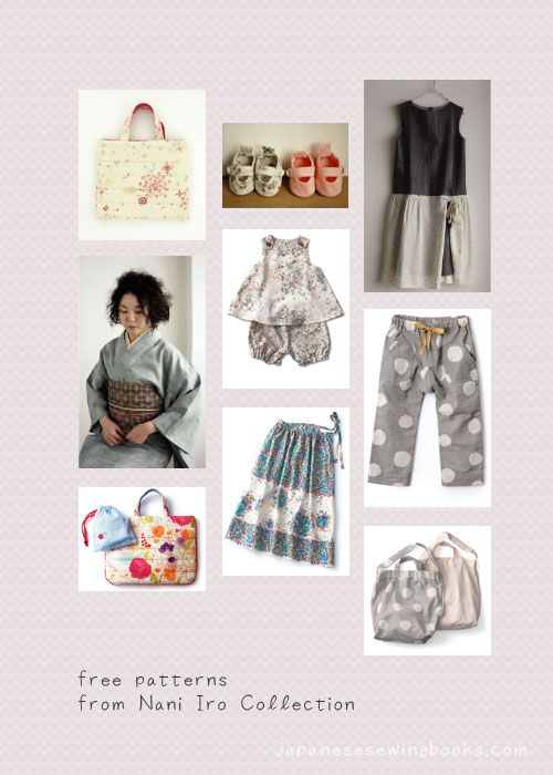 from japanesesewingbooks.com....lots of free pattern links and ...