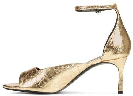 eb4b6f73155 Via Spiga Women s Jennie Metallic Kitten Heel Sandals  Jennie Women Spiga