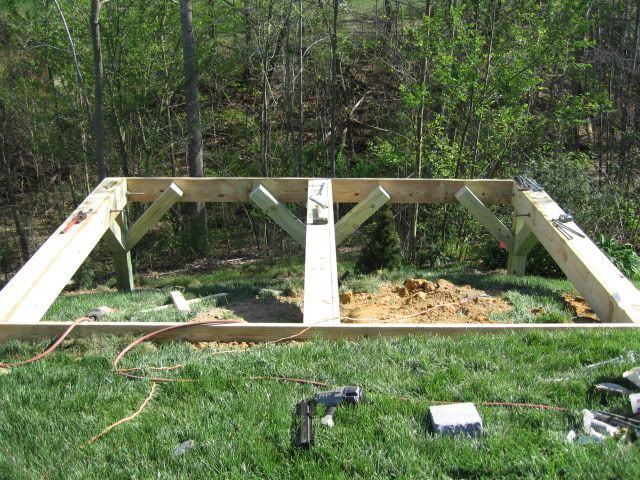 Building A Shed On A Big Slope The Garage Journal Board