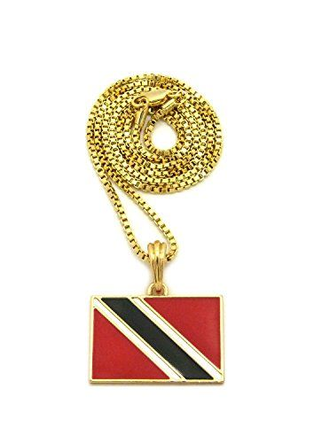 map caridesi products trinidad and gold sweet tobago pendant