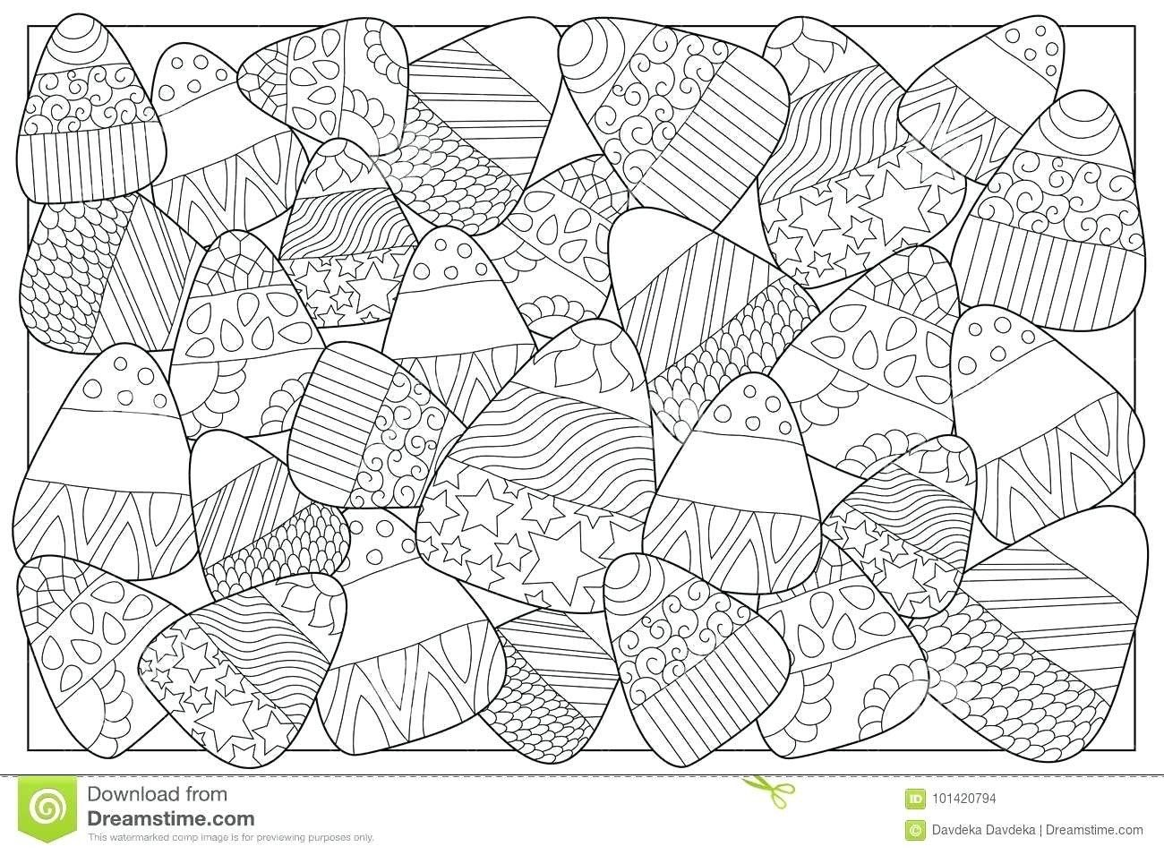 Candy Corn Coloring Page Inspirational Coloring Page Candy