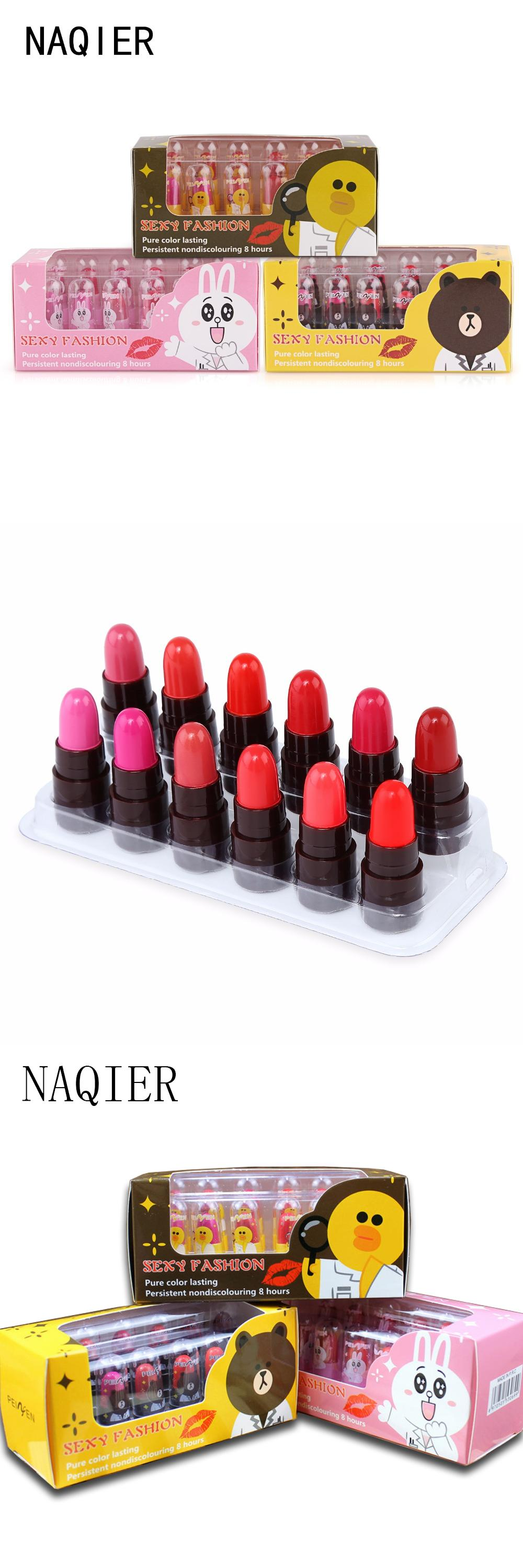[Visit to Buy] Fashion Mini Cute Long Lasting Lipstick