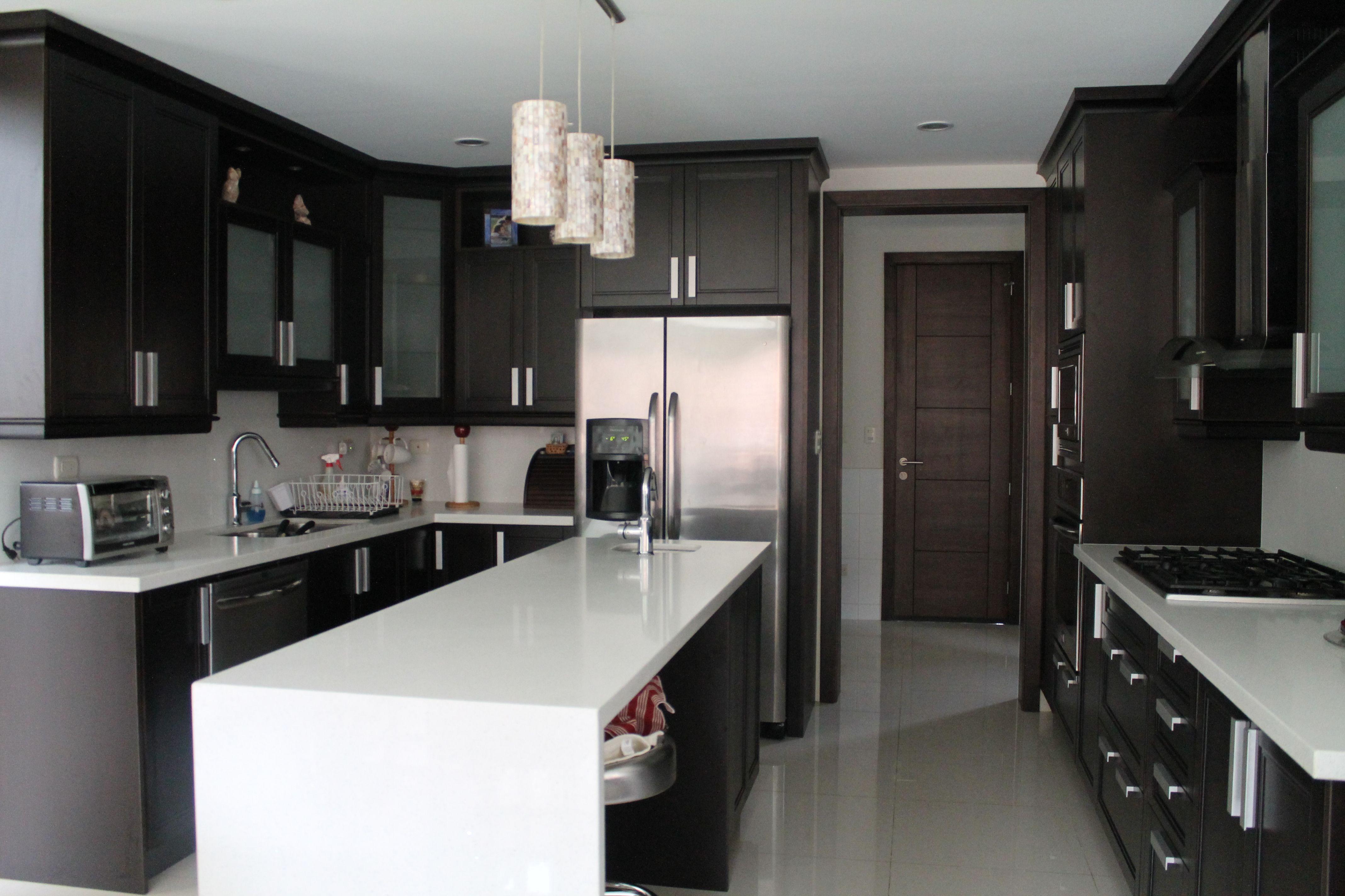 Muebles de cocina con cuarzo rojo ideas interesantes para dise ar los ltimos - Gelse cocinas ...
