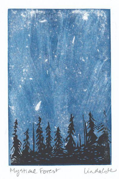Linda Cote - Mystical Forest