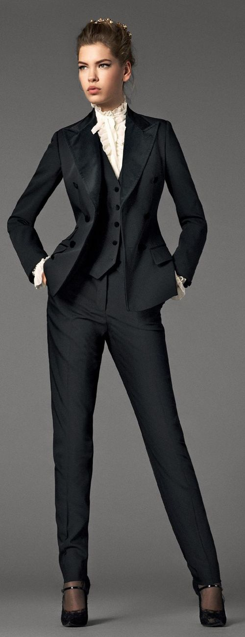 Women in men's suits: garcon clothing style | tomboy femme style ...