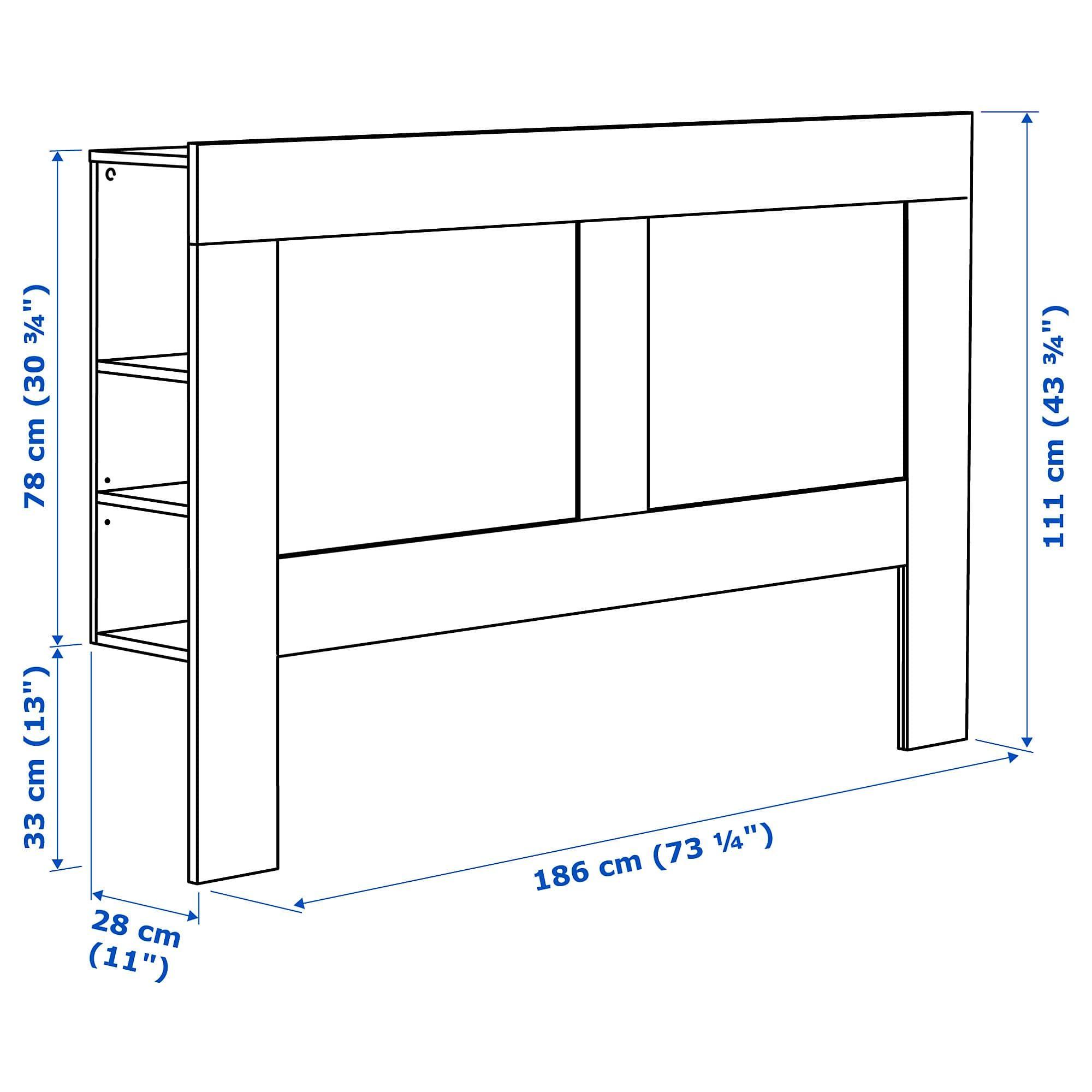 Brimnes Kopfteil Mit Ablage Weiss Ideen Kopfteil Ablage Und Ikea