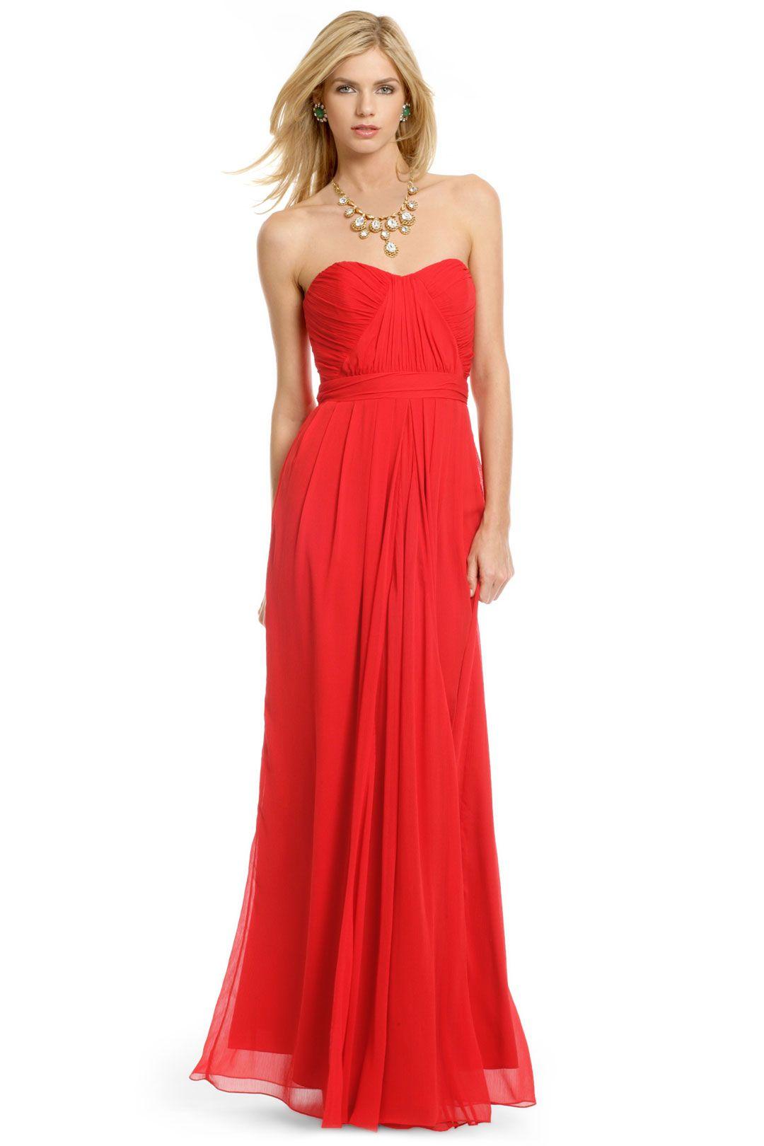Faye Chiffon Gown | Looks | Pinterest | Chiffon gown, Badgley ...