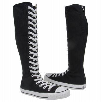 ... knee high heel boots. Amazon.com  CONVERSE Women s All Star XX-HI  Shoes  i want some of these 10cc368bc