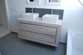 Afbeeldingsresultaat voor steigerhouten badkamermeubel