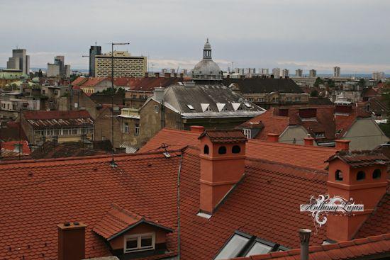 Downtown Zagreb Croatia Croatia Croatia Zagreb Paris Skyline