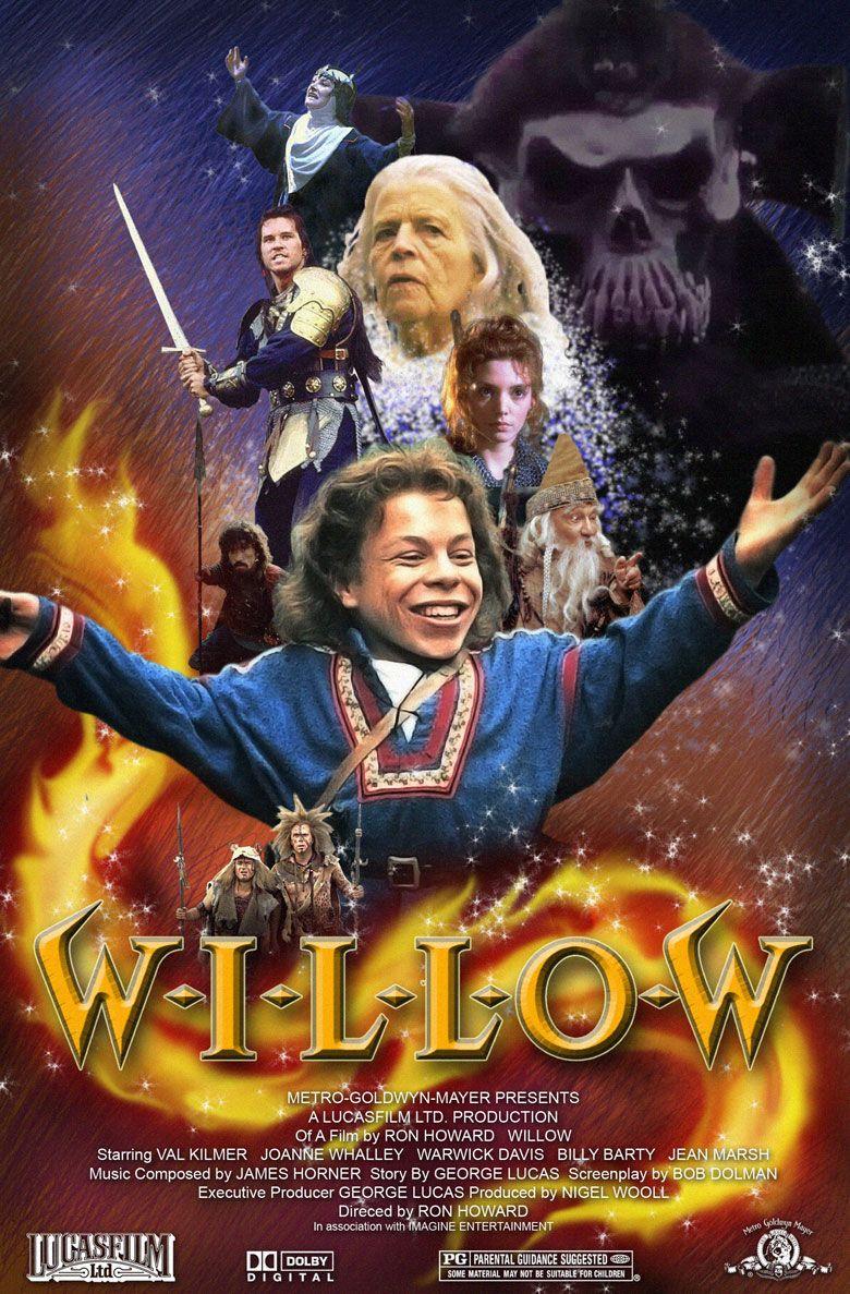 Steven Ellinger Willow Movie Poster In 2018 Pinterest Short Circuit 27x40 1986