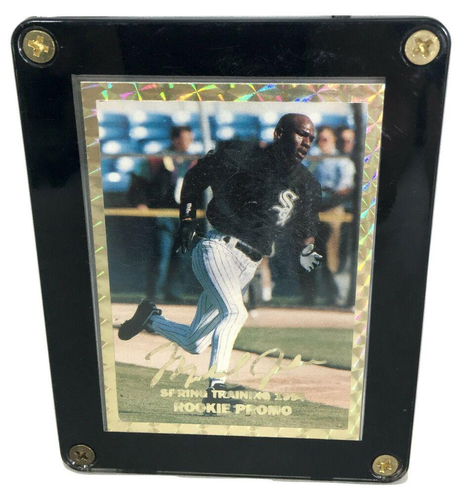 Michael jordan 1994 spring training rookie promo card