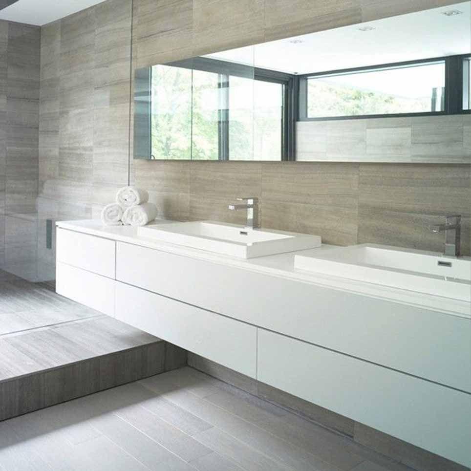doppio lavandino bagno - Cerca con Google | Casa minimalista ...