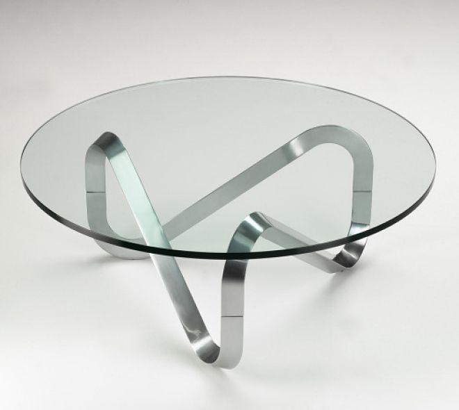 Circular Glass Coffee TableCoffeTable