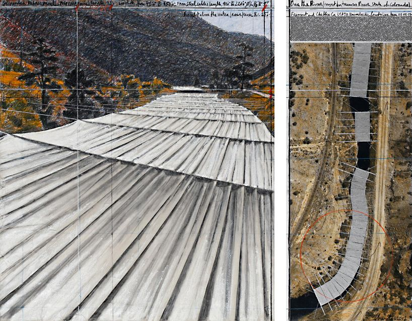 christo gets green light for monumental installation over the arkansas river
