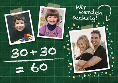 Geburtstag 30 60