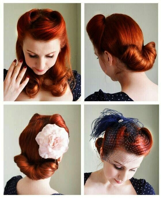 Rolls Pin Up Coiffures  Victory Rolls Pin Up Coiffures   Utilize These Tips To Assure An Incredible Experience Romantic Hairstyles to Add Femininity to Your Style Romanti...