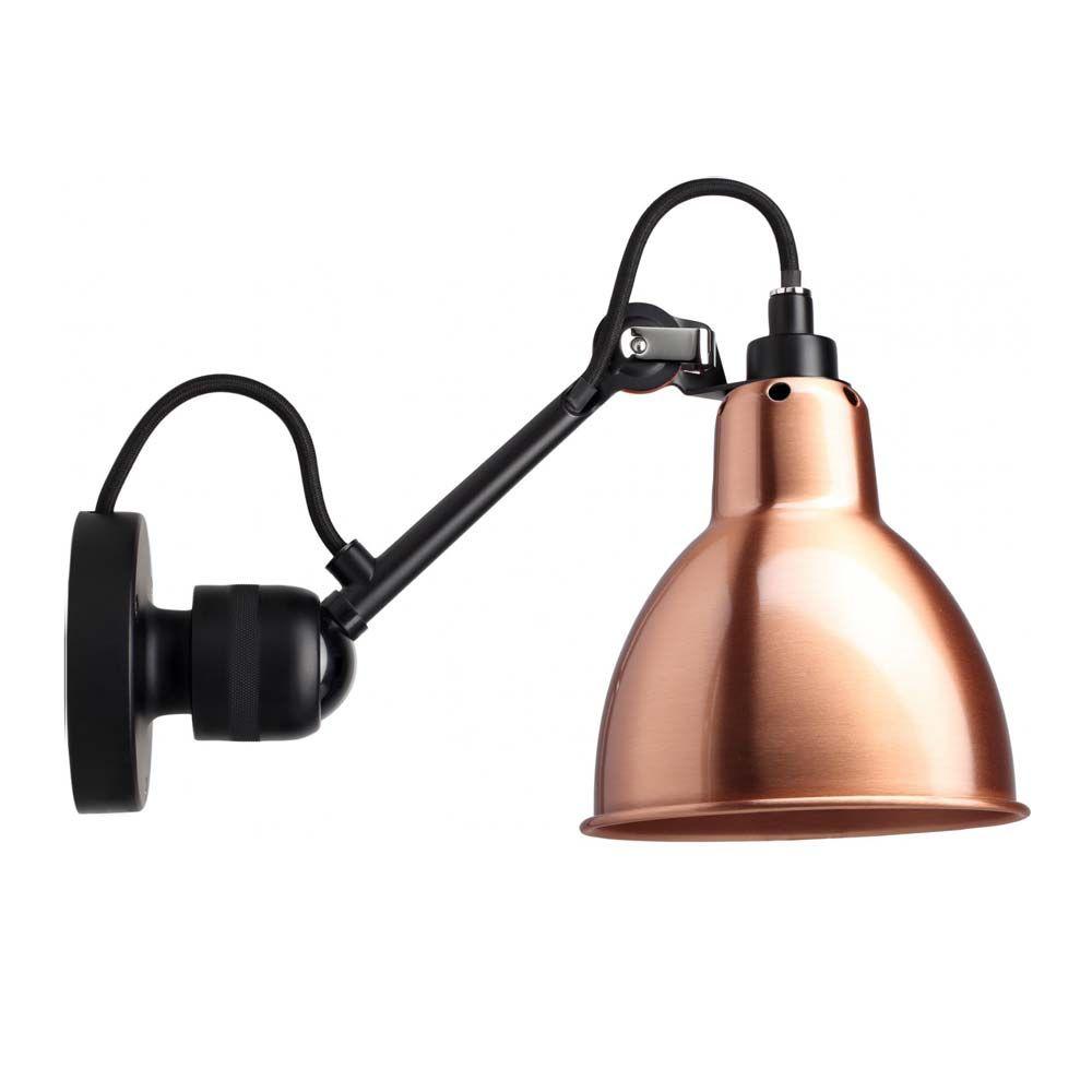 """dcw lampe gras wandleuchte """"n°304"""" metall  wandleuchte"""