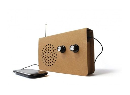 Cardboard Radio Contemporary kids toys, Gadget gifts
