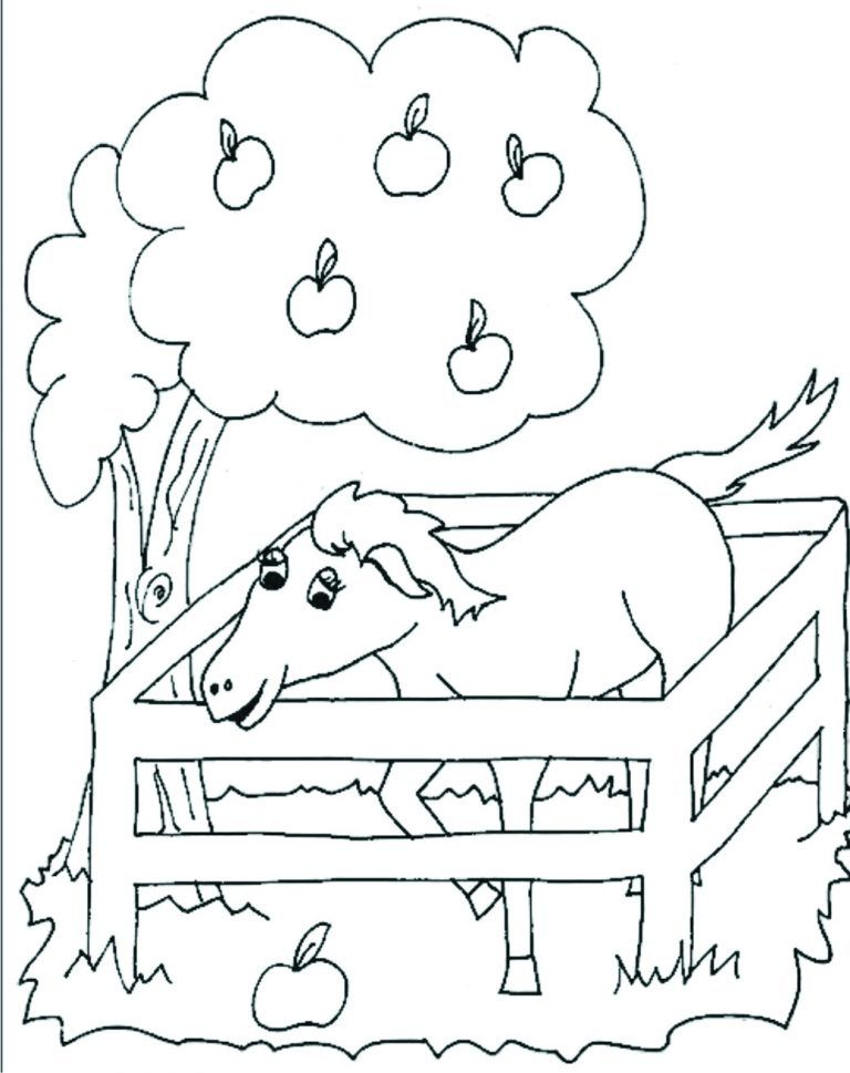 Planse De Colorat Caluti Si Magarusi Desene Pentru Copii De Con Imagini Cu Animale Domestice De Colorat E Planse De Colorat Animale Home Decor Decals Art Decor