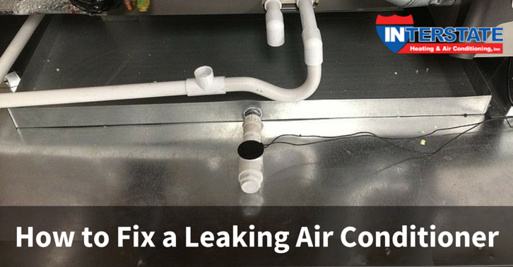 How To Fix A Leaking Air Conditioner System Interstate