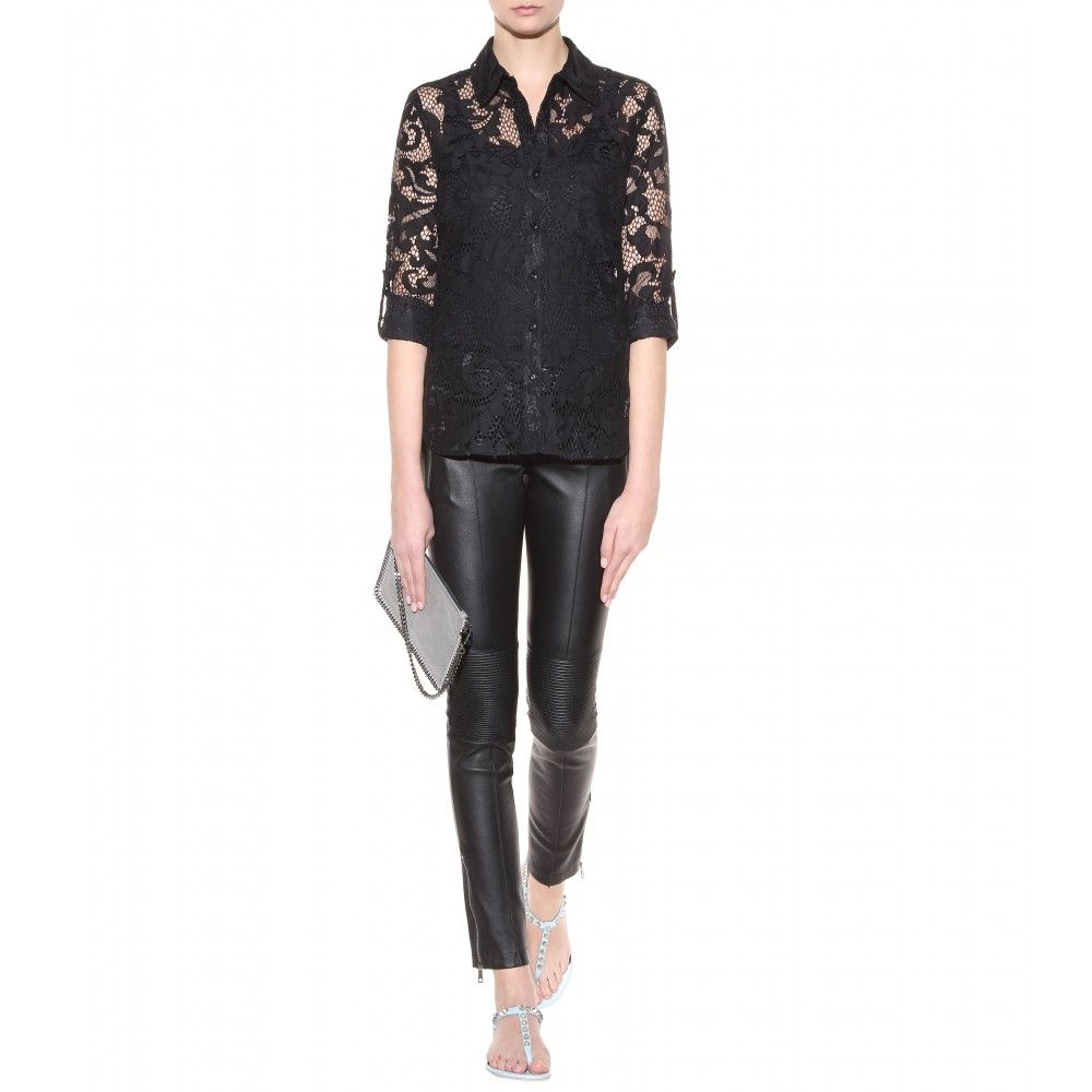mytheresa.com - Lorelei Two lace shirt - blouses - tops - clothing - Luxury Fashion for Women / Designer clothing, shoes, bags
