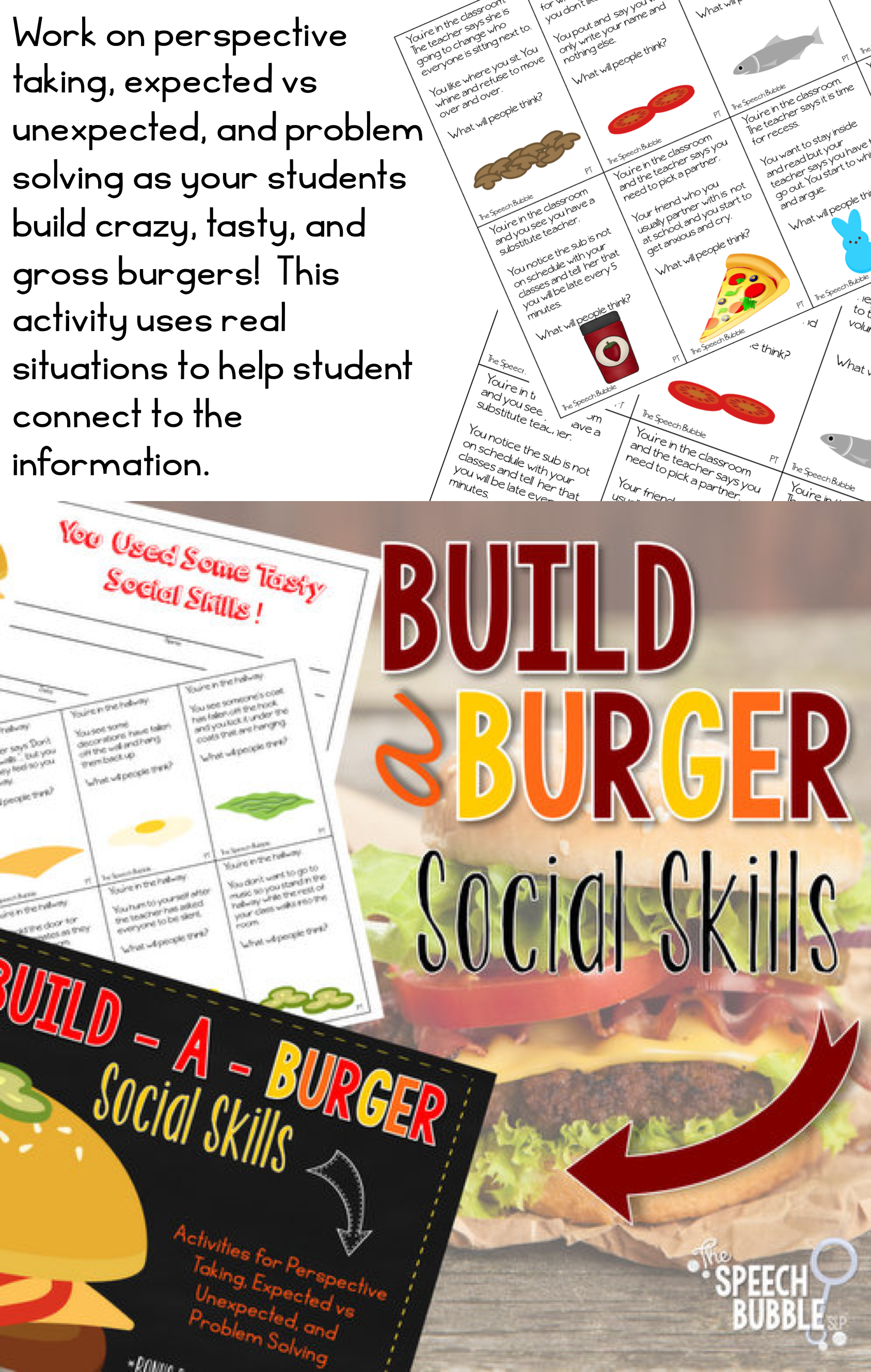 Build A Burger Social Skills And A Delicious Giveaway